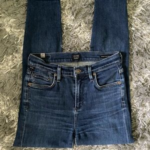 citizens of humanity high rise jeans 25